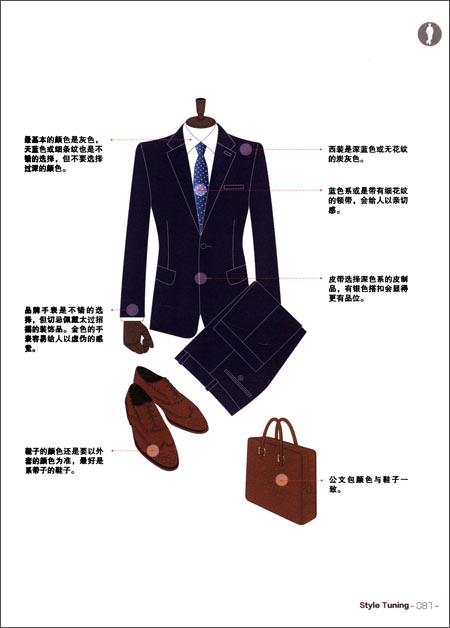 商务男士的魅力衣装
