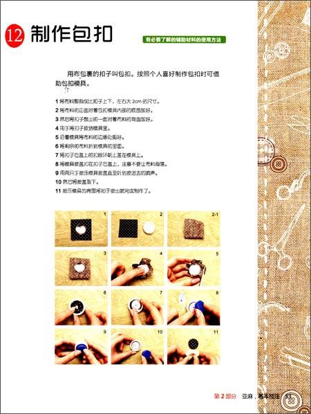零起点韩版创意DIY教程:最亲切的手工家居布艺