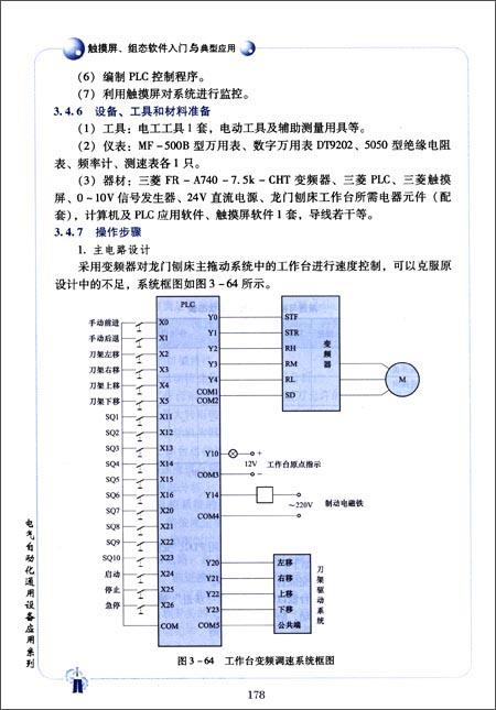 用plc和变频器进行物料传送及分拣系统设计,安装与调试.