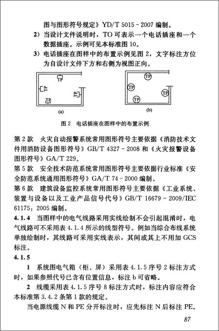 建筑电气制图标准