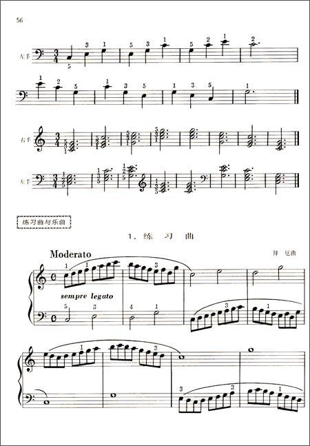 中国儿童钢琴教程2:亚马逊:图书