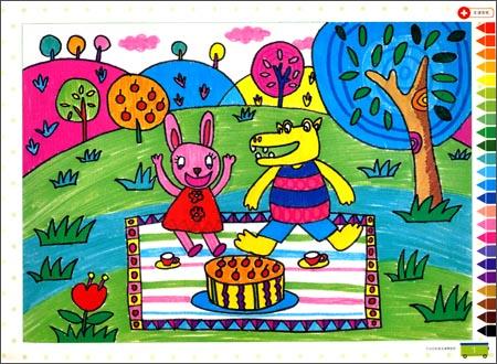 美术基础画彩笔画-美术基础画