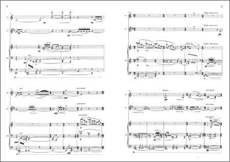 《三重奏:为小提琴单簧管和钢琴而作》 杨立青【摘要