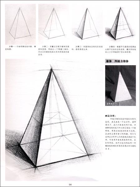 了解正方体的结构,注意正方体平行或成角透视规律,利用顶面,底面对角