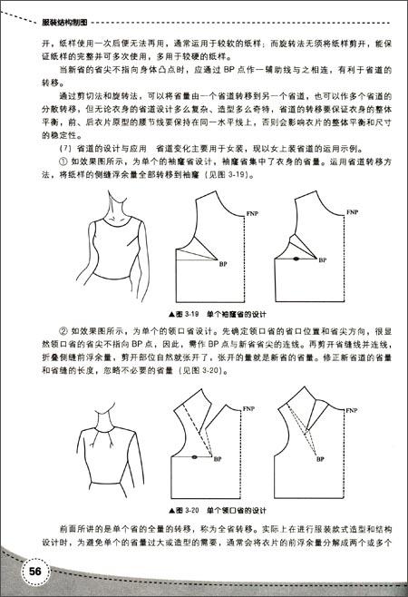 服装结构制图(第2版)