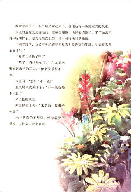 杨红樱校园小说画本系列:漂亮老师和坏小子(全彩美)