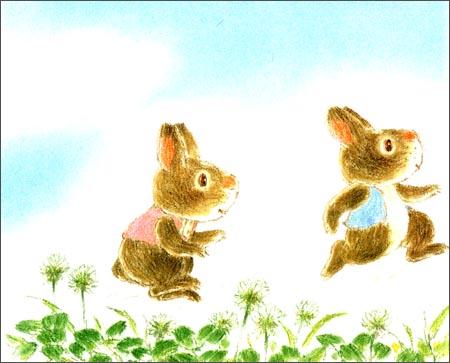 小兔采蘑菇-儿童智慧寓言故事