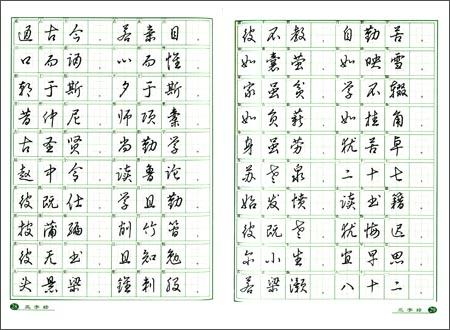 回至 千字文·三字经·弟子规:钢笔草书字帖 (平装)图片
