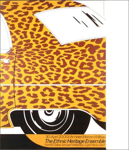 欧洲招贴画设计大师作品经典:尼古拉斯·卓思乐