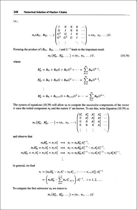 概率论、马尔科夫链、排队和模拟