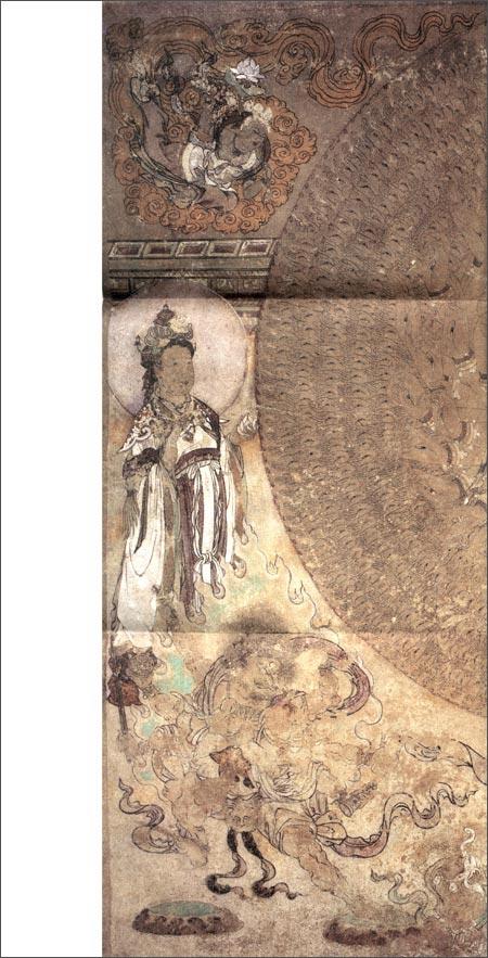 《中国古代壁画经典高清大图系列:敦煌莫高窟第3窟眼