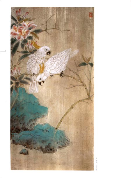 笔花鸟画赏析 当代工笔画唯美新视觉