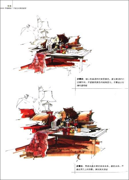 杨健手绘画法