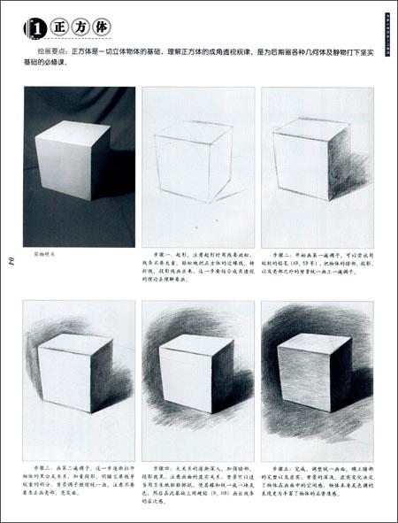 新编儿童绘画入门教程:少儿素描(石膏几何体)/王夏