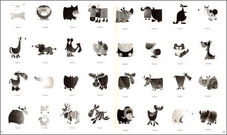可爱动物绘:韩国动物简笔画3000例/黄喆秀/化学工业