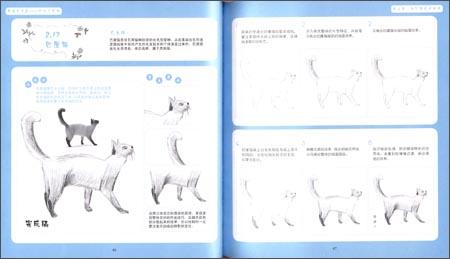 满包邮 素描随手画:动物也疯狂(双色版)