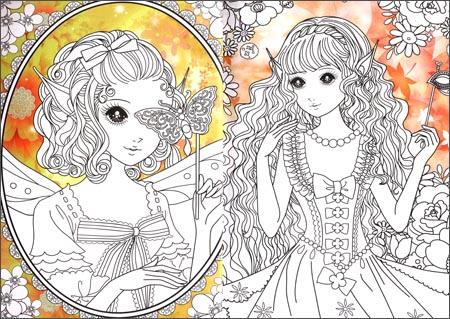 小卧龙:白雪公主简笔画14