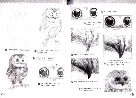 《爱手绘·爱写实:铅笔素描可爱动物绘》