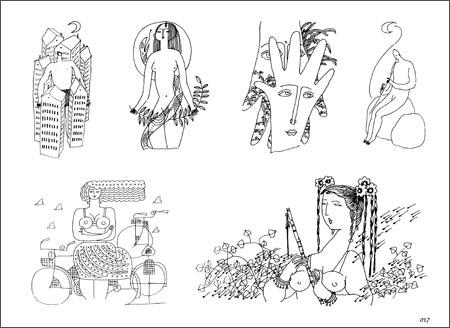 61打蛋蛋-手绘人物装饰 /梁百庚/中国纺织出版社/室内/环境/设计/理论