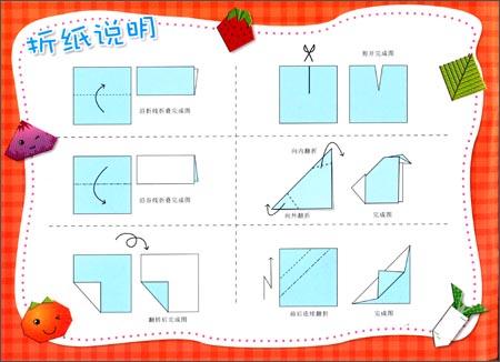 松鼠折纸步骤图