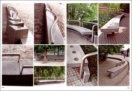 景观设施设计手绘小品分享展示