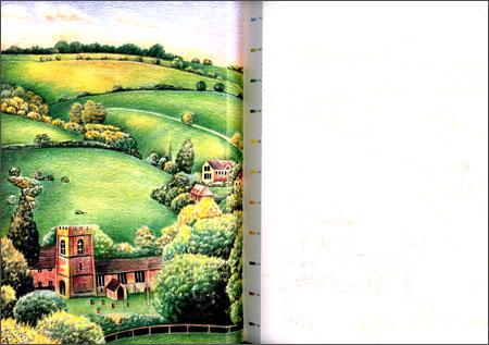 《色铅笔的手绘时光:大人的风景涂绘本》 飞乐鸟工作