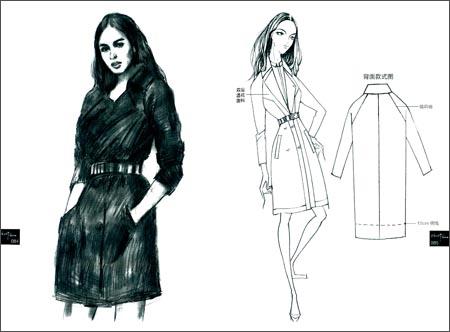 服装设计速写