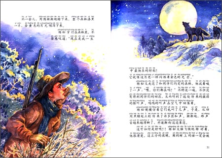 《西顿动物小说全集17:公鹿的脚印(彩绘拼音版)(第3辑