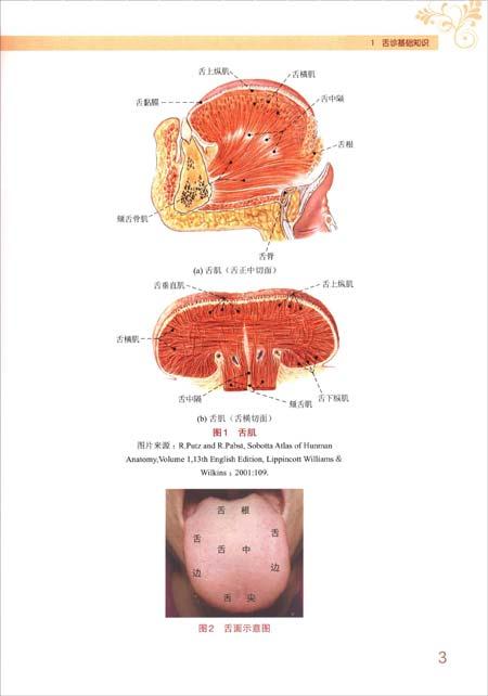 临床实用舌象图谱