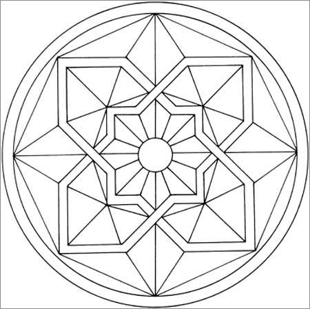 曼陀罗纹身图案大全内容图片分享