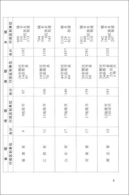 2012中华人民共和国行政区划简册