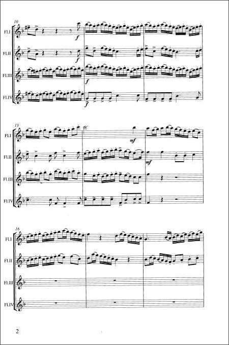 世界古典名曲集:长笛四重奏(附cd光盘1张):亚马逊