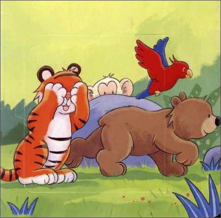 小动物捉迷藏卡通图片_翻糖卡通小动物图片图片