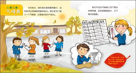 儿童天气预报播报词-冬天天气预报播报词-幼儿园天气
