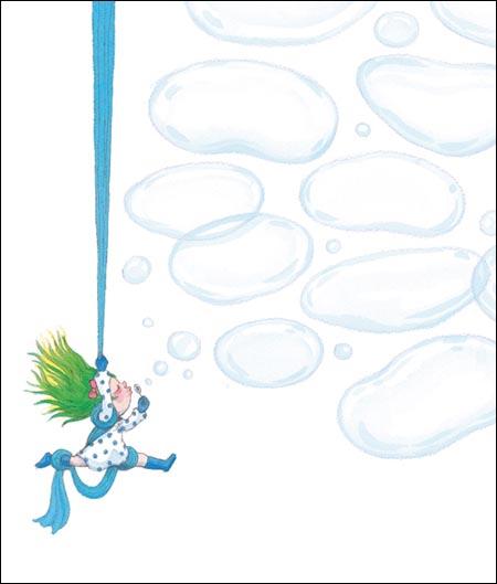 几米最新笔记书:吹泡泡