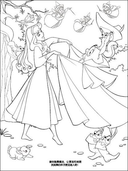 简笔画 迪斯尼公主