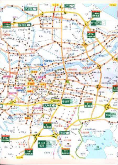 上海江苏浙江安徽高速公路地图(2012版)