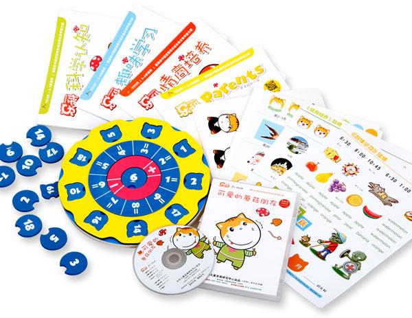 乐科儿童立体早教大礼包(3-6岁):可爱的蘑菇朋友