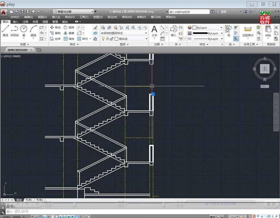 10天学会autocad 2014建筑标准施工图绘制图片