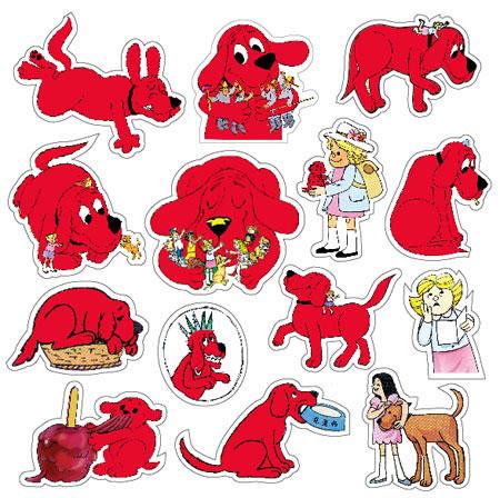 可爱至极的大红狗