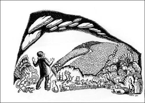 爱心树世界杰出绘本选•100万只猫