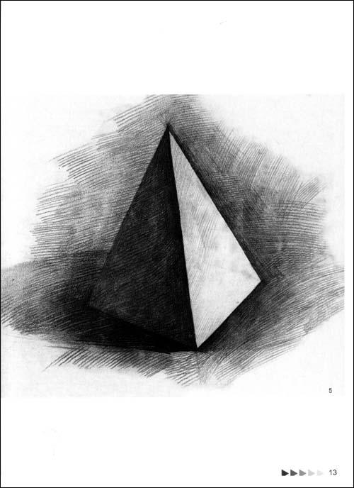 素描几何静物图片图片大全 哪有好的几何素描或静物的图片