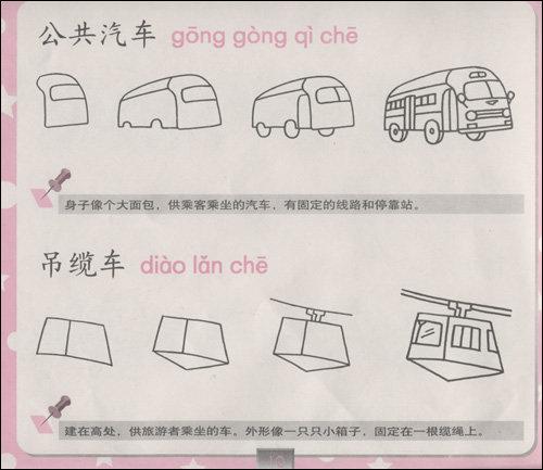 《小米罗画室:幼儿简笔画61交通工具篇》