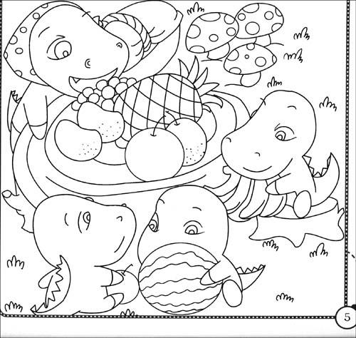 儿童手绘鹅卵石