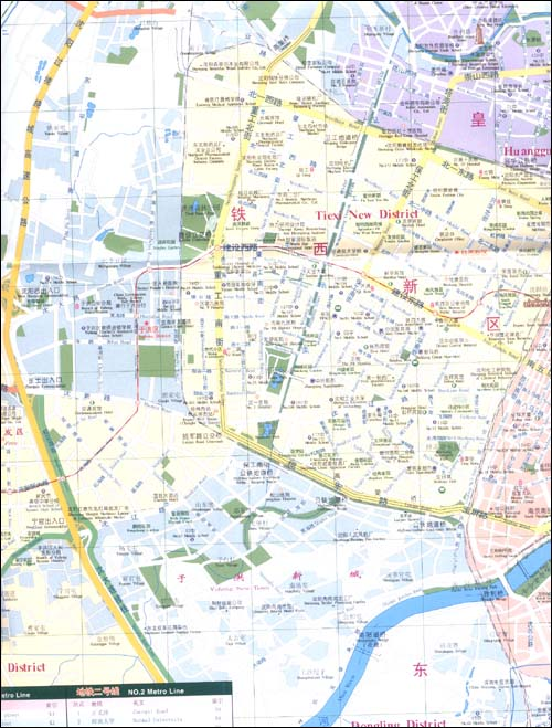 沈阳交通旅游中英文地图:亚马逊:图书