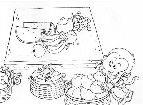 幼儿园主题绘画 大班上