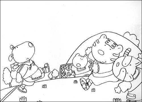 幼兒園幾何圖形簡筆畫教案《房子》