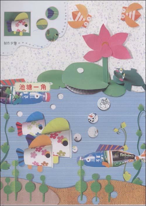 幼儿园楼道装饰图片展示_幼儿园楼道装饰相关图片下载 环创走廊墙面图片