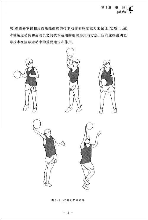 篮球入门与技战术图解