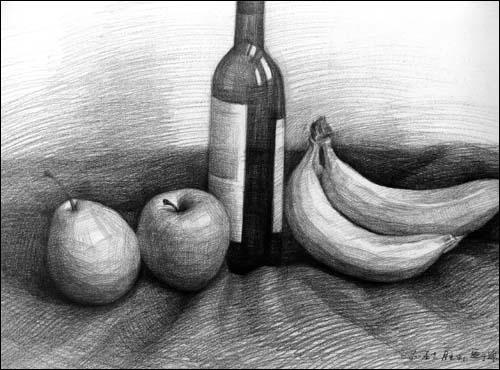 美术高考名师范画 名家大范本 李胜利素描静物临本